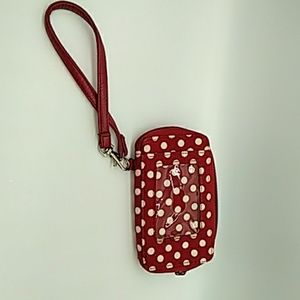 Thirty one red dot wallet